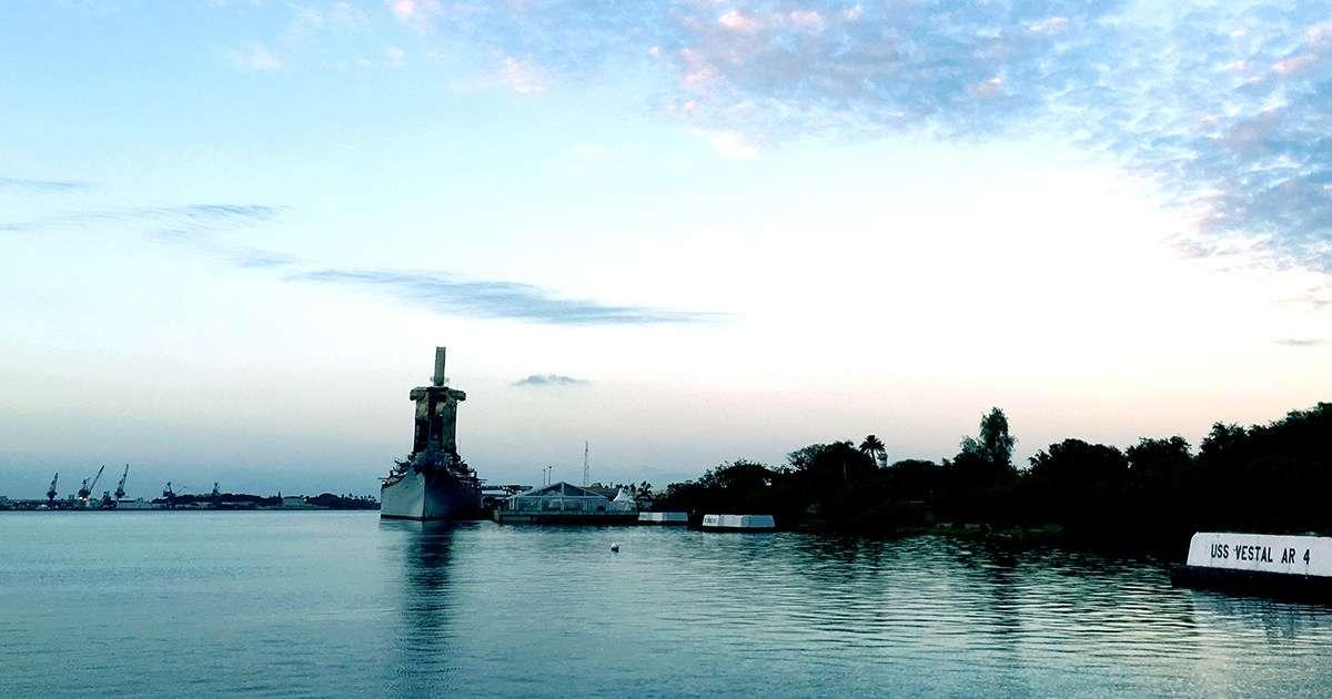 Battleship Missouri Memorial. Image: David Foley / ANMM.