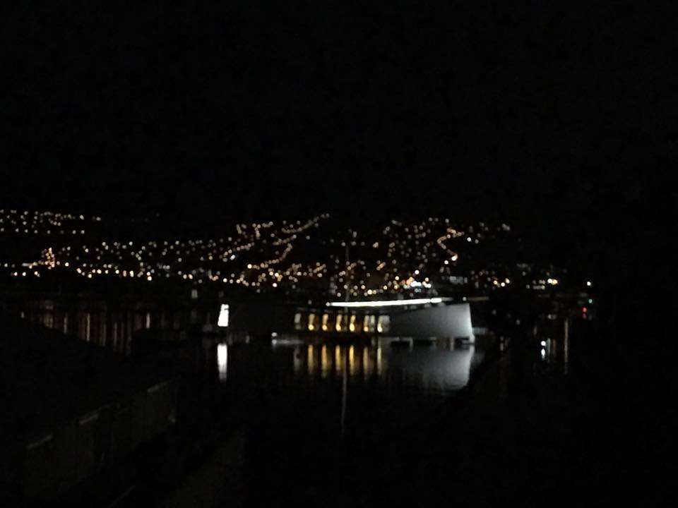 Arizona Memorial at night. Image: Anne Doran / ANMM.