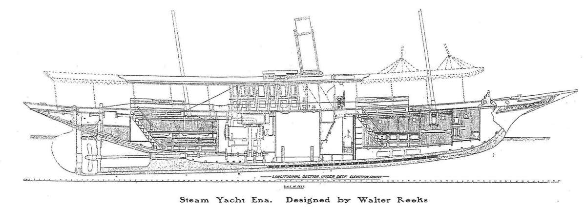 SY <em>Ena</em> cross section. Image: ANMM archives.
