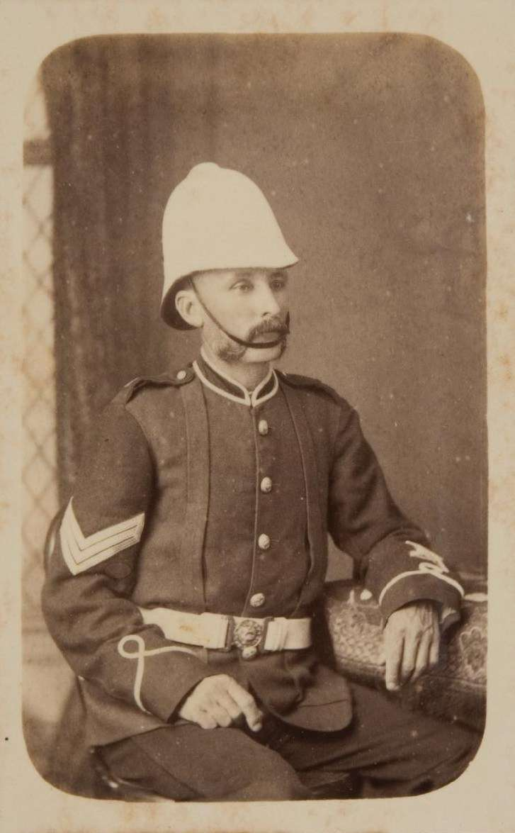 Sergeant John Joseph Shying, 1885. Photographer William H Vosper. Courtesy Sydney Living Museums.