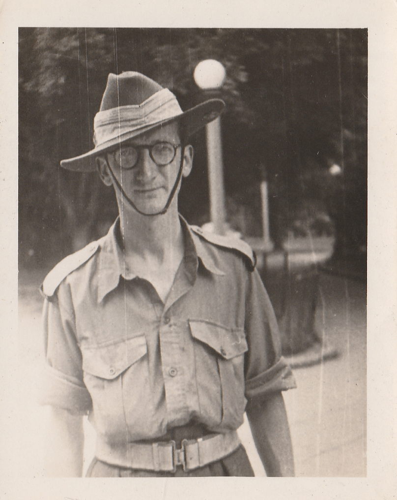 No longer the elusive Mr Watt. John Watt Jr. during World War II. Image courtesy of the Iluka Historical Museum.