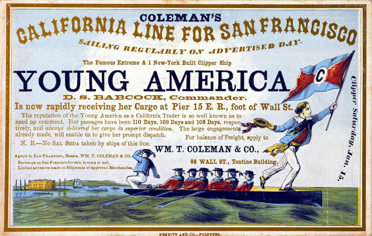 Advertisement for Coleman