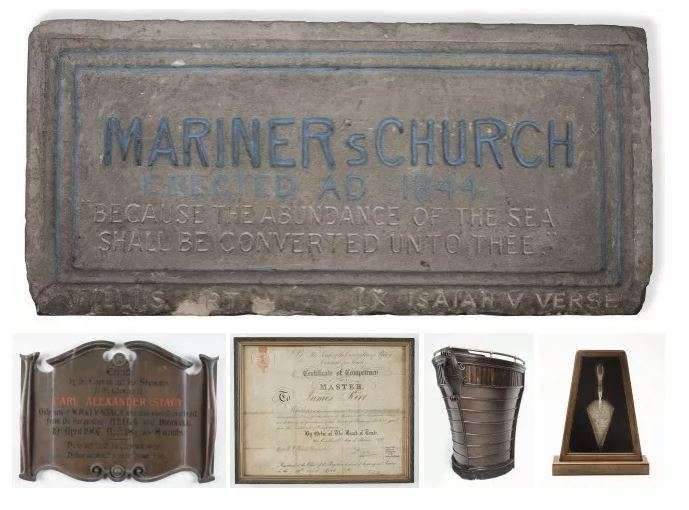 The Mission To Seafarers Collection explores the early provision of welfare to sailors in Sydney ports and the surprising role of charitable religious organisations in maritime history. ANMM Collection.
