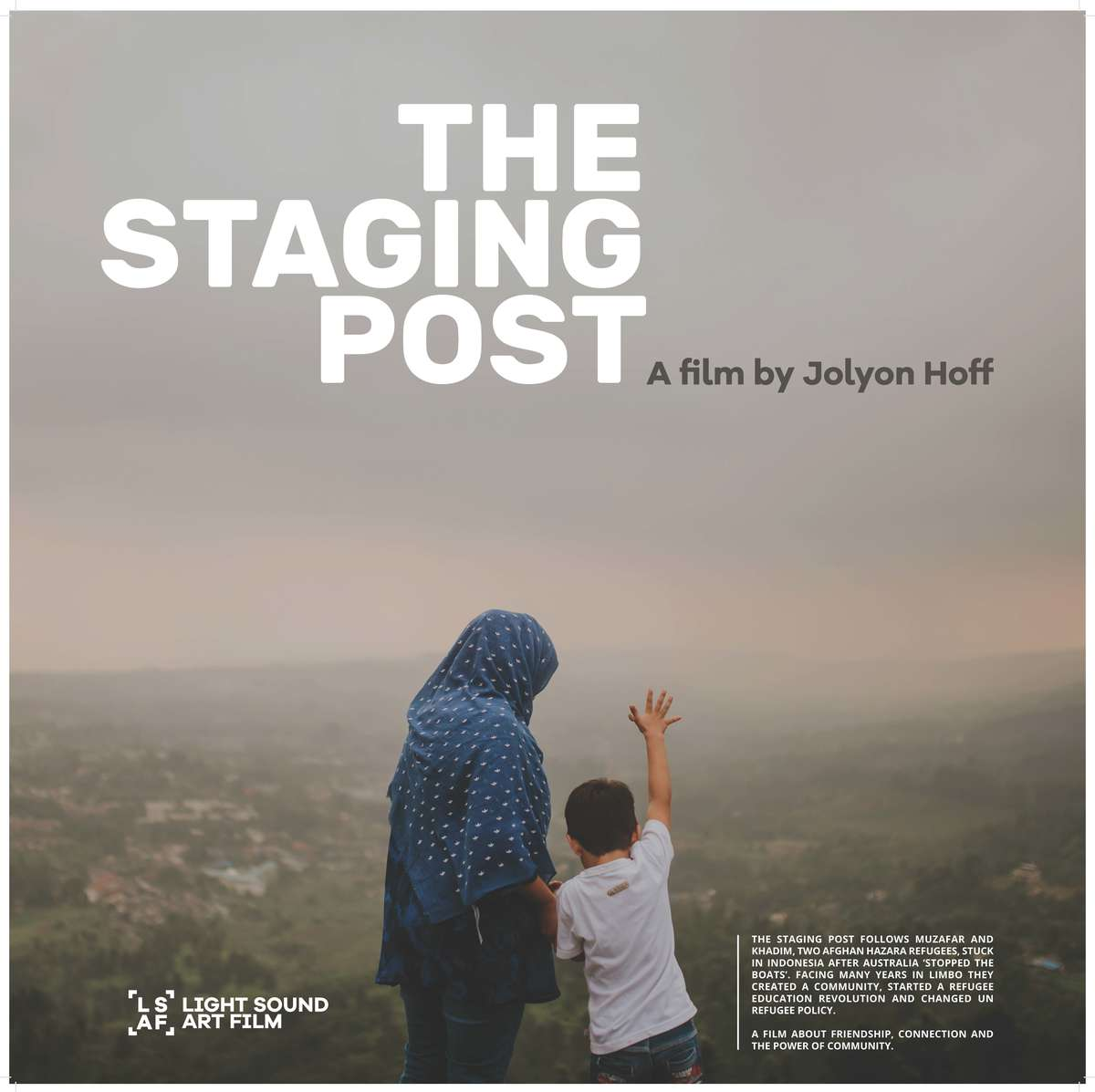 The Staging Post, a film by Jolyon Hoff, 2017. Courtesy The Staging Post/Cisarua Learning.