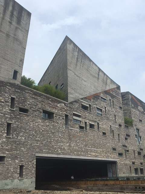 The architecturally stunning Ningbo museum. Image: Stephen Gapps/ANMM.
