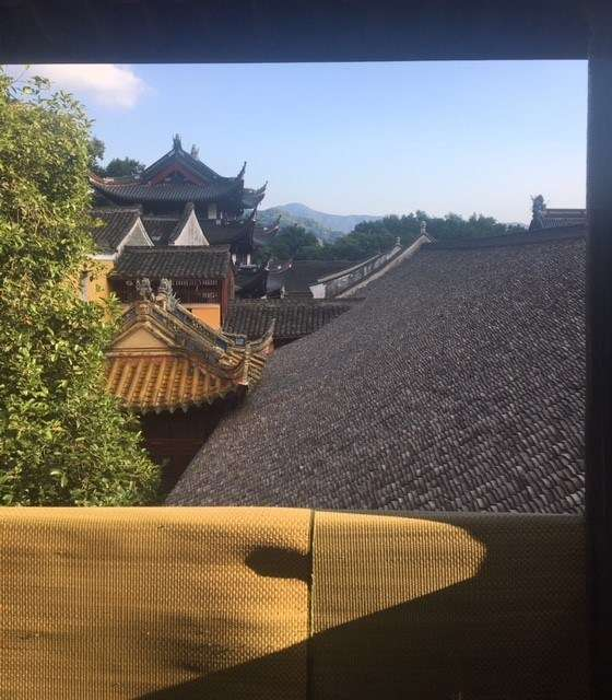 View from Tiantong Bhuddist temple, Ningbo. Image: Stephen Gapps/ANMM.