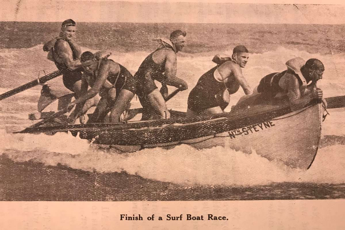 Image from the Surf Life Saving Handbook Australia 1926, page 120. Vaughn Evans Library Collection.