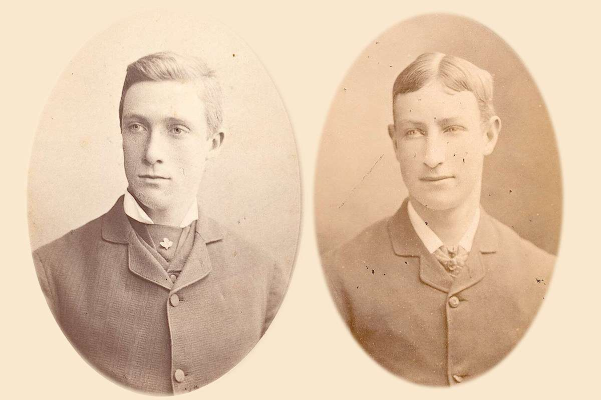 The spiritualist movement of the late 19th century believed life and death included an in-between realm where spirits were able to exist and communicate with the living. In the case of the missing Browne brothers, their family believed the brother's spirits could provide some startlingly detailed information about their deaths. Images: National Library of Australia.