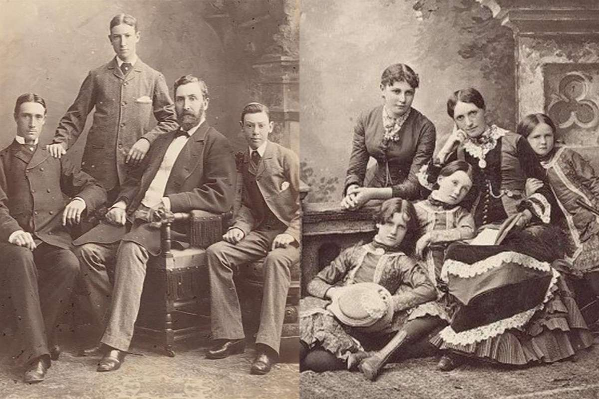 The Browne family were part of the Spiritualism movement of the late 19th and early 20th centuries. They engaged the methods of the