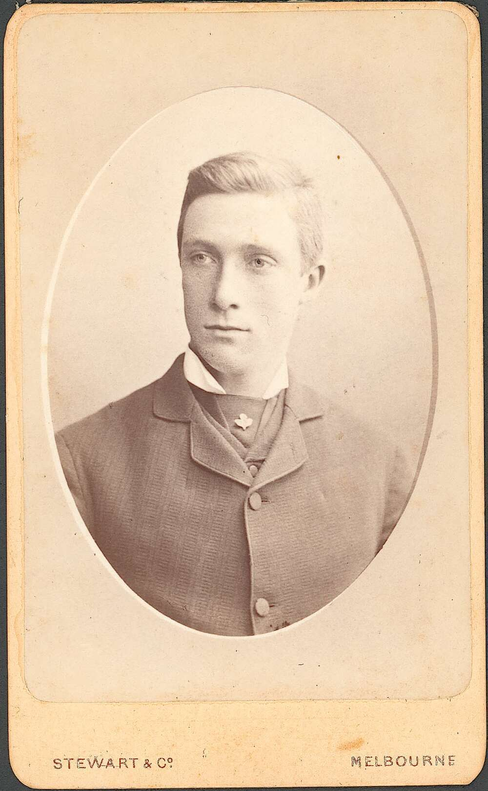 "A possible portrait of elder son Hugh Browne, who was lost with his brother Will in 1884. Image: National Library of Australia, via <a href=""http://nla.gov.au/nla.obj-228200796"">Trove</a>."