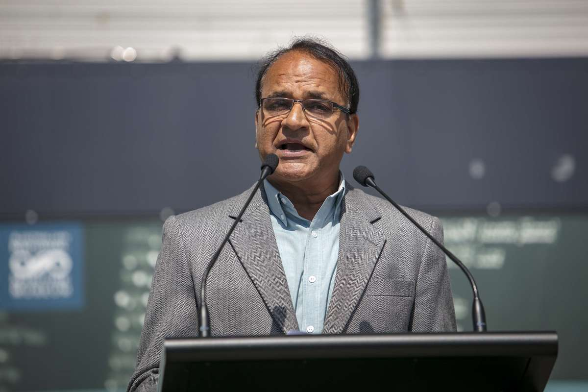 Dr Ish Sharma came to Australia in 1980 to complete a PhD in Science at ANU Canberra. Image: Andrew Frolows/ANMM.
