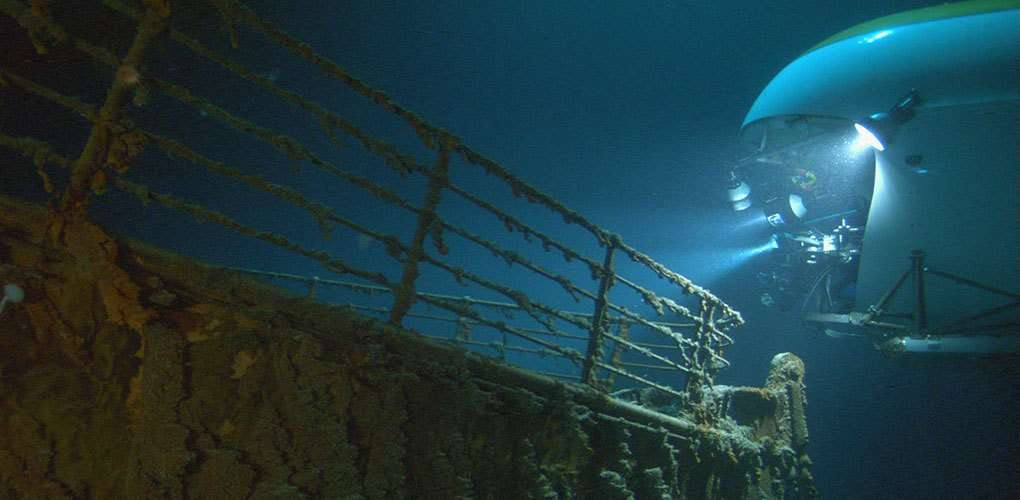 Inspired by Ron Ballard's discovery of the wreck of the RMS <em>Titanic</em> in 1985, Cameron began work on a project which allowed him to pursue his interest in maritime archaeology and create what would eventually be one of the top-grossing films of all time, <em>Titanic</em>. Image: supplied Avatar Alliance Foundation.