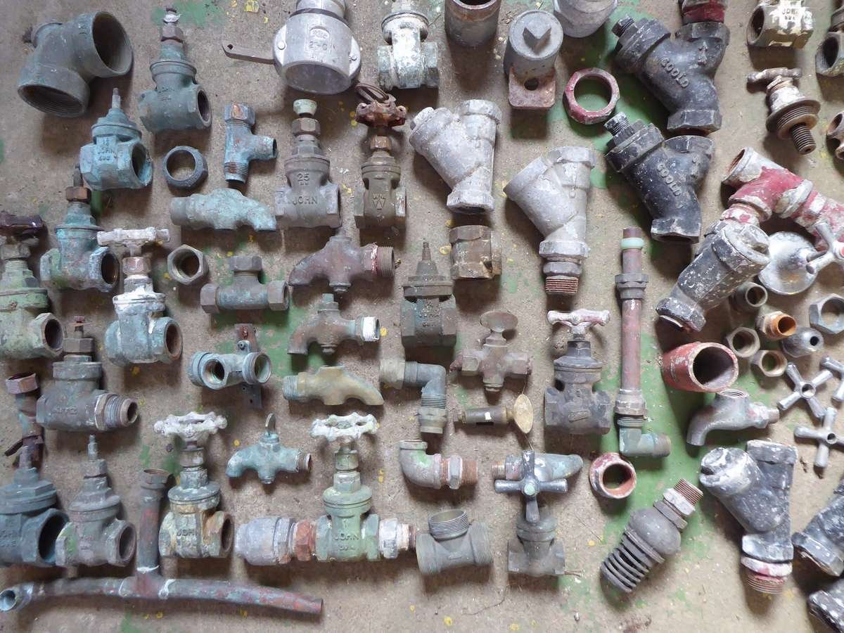 Pipe Fittings. Image: Ailsa Fergusson
