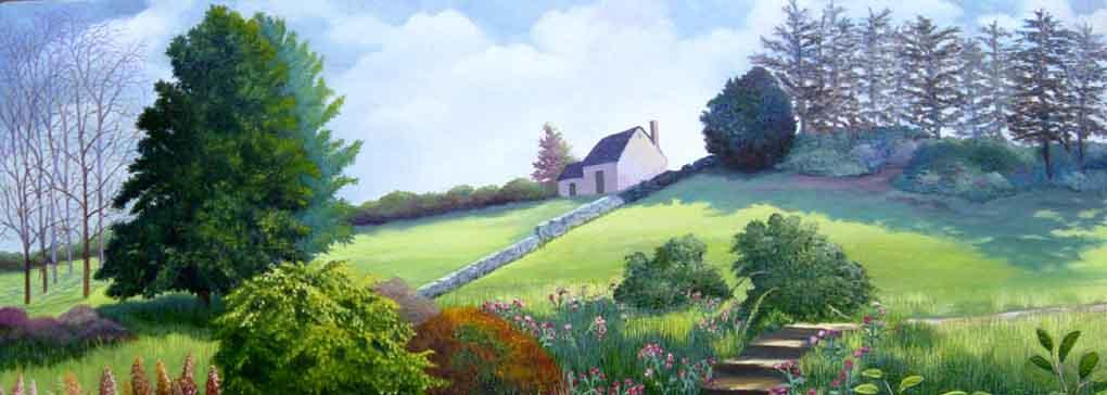 English Landscape, Malmesbury, Wiltshire