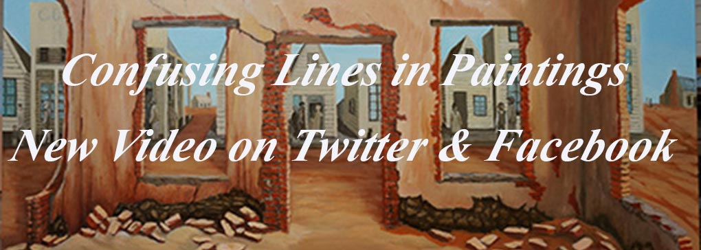 Confusing Lines in Paintings: Video
