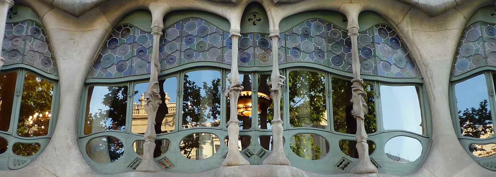 Gaudi's gorgeous creations