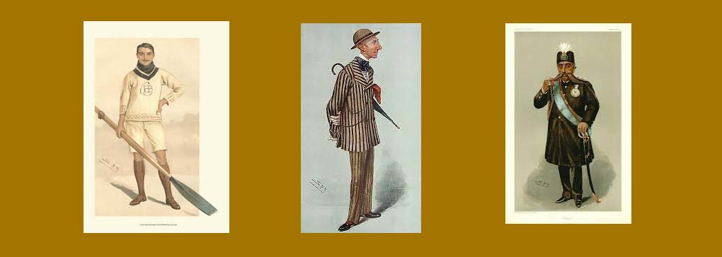 Leslie Ward -Caricaturist for Vanity Fair