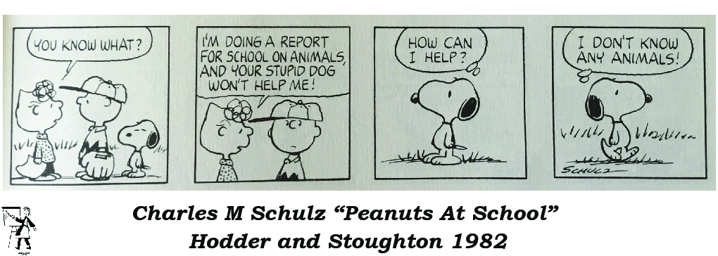 Cartoon Dogs or an excuse to feature Snoopy
