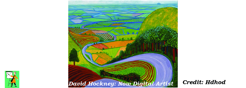 David Hockney and Tablet Art