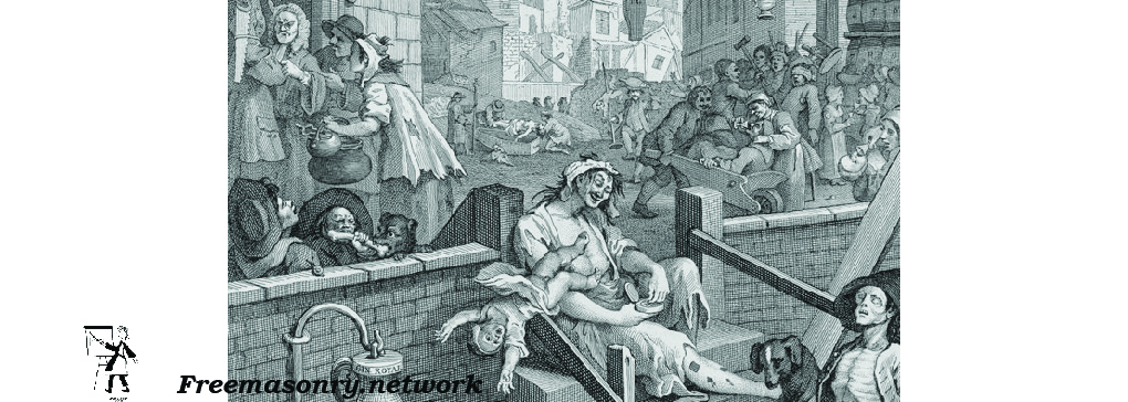 Hogarth's Perception of Society Mocked English Society