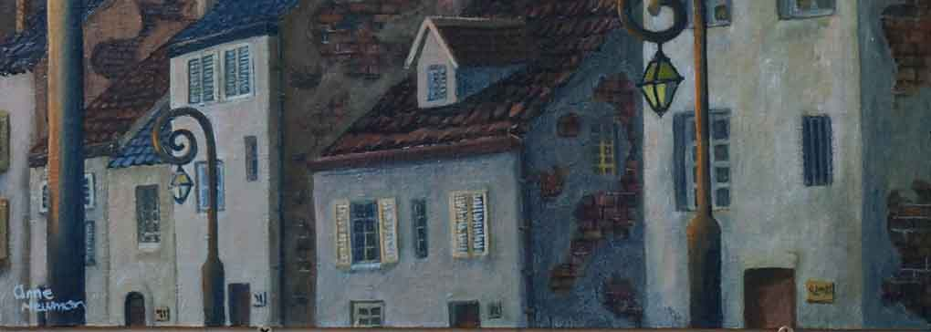 Exhibition of My Favourite Paintings of Houses