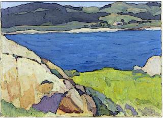 The Blue bay of Carmel