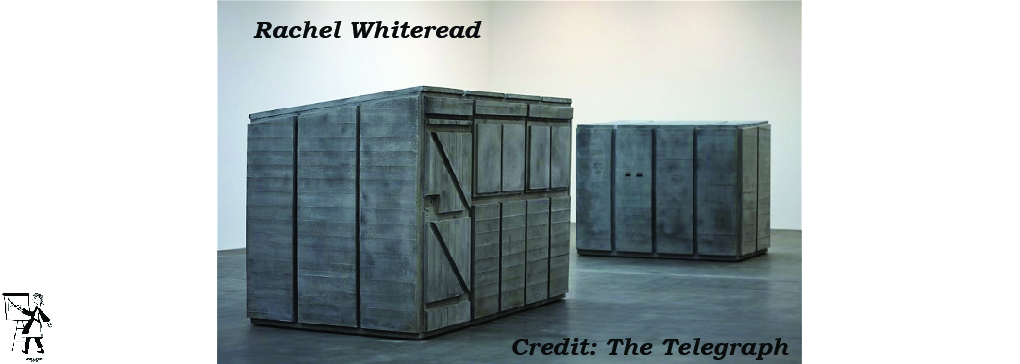 Sculptor Rachel Whiteread