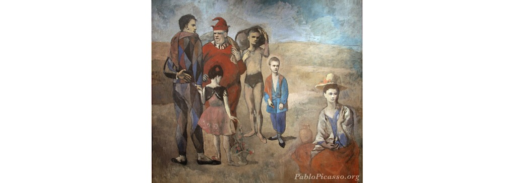 Picasso, Paul and Harlequins