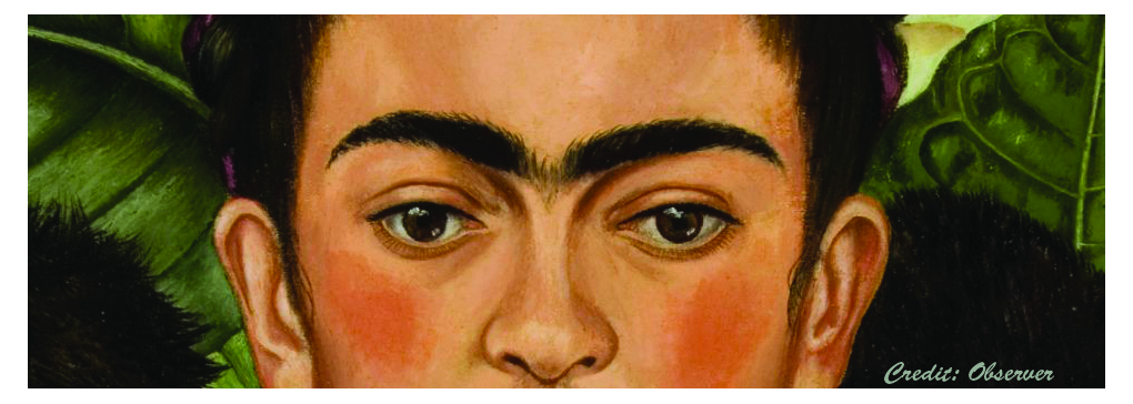 Eyes and Brows: Following Frida