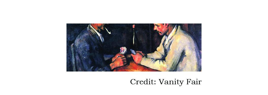 Cezanne, Cards & Canasta