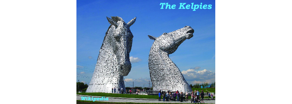Turning to Water with The Kelpies