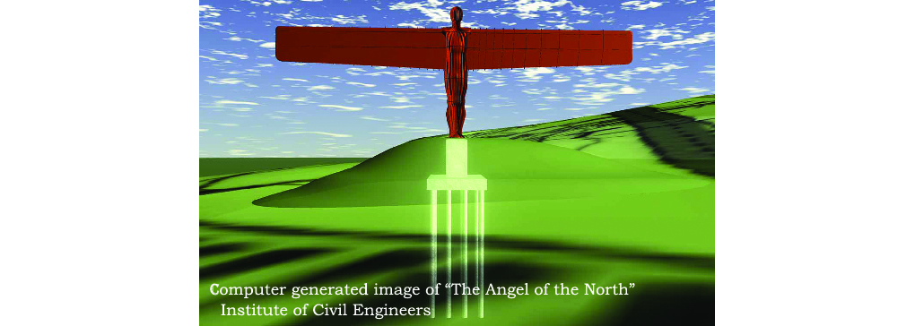Constructing the Angel of the North