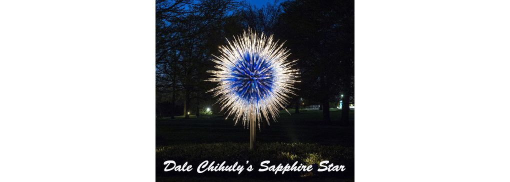 Relax with a walk through the Kew Gardens and take in some glass works by Dale Chihuly
