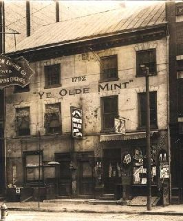 11-The-first-U.S.-Mint--c.1910--built-in-1792.-The-last-standing--main--building-was-destroyed-in-1911