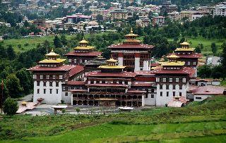 Tashichho-Dzong-Fortress