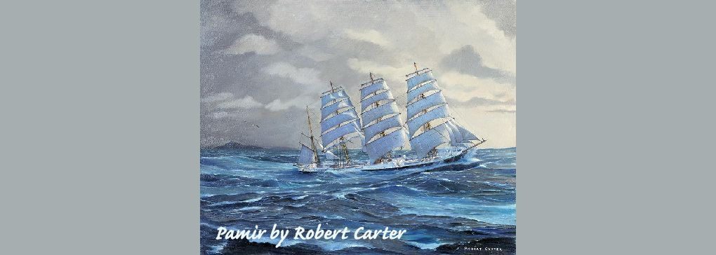 Returning for another voyage with Robert Carter, Marine Artist