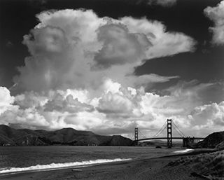 Golden-Gate-and-Bridge-from-Baker-Beach--San-Franciso-1953