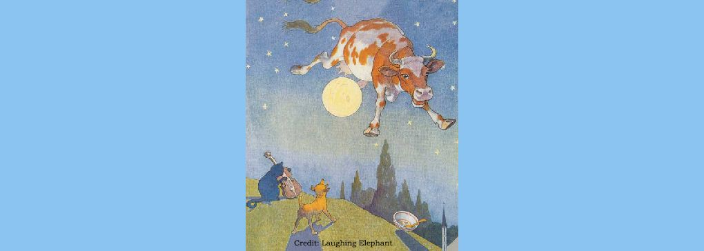 The Cow Jumped Over the Moon and...