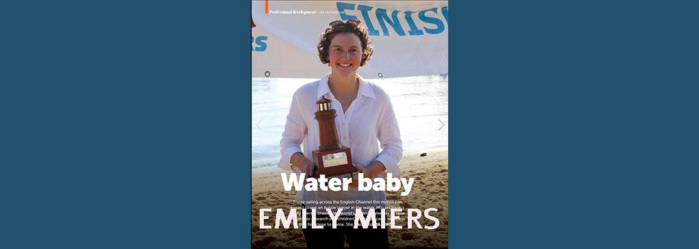 Emily's Channel Swim