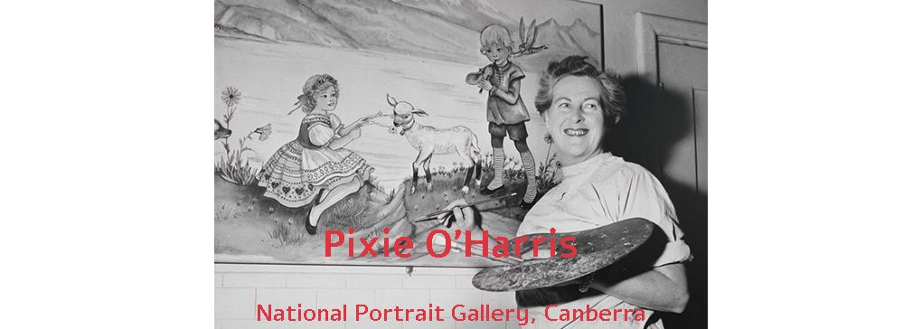 Pixie O' Harris and the missing paintings
