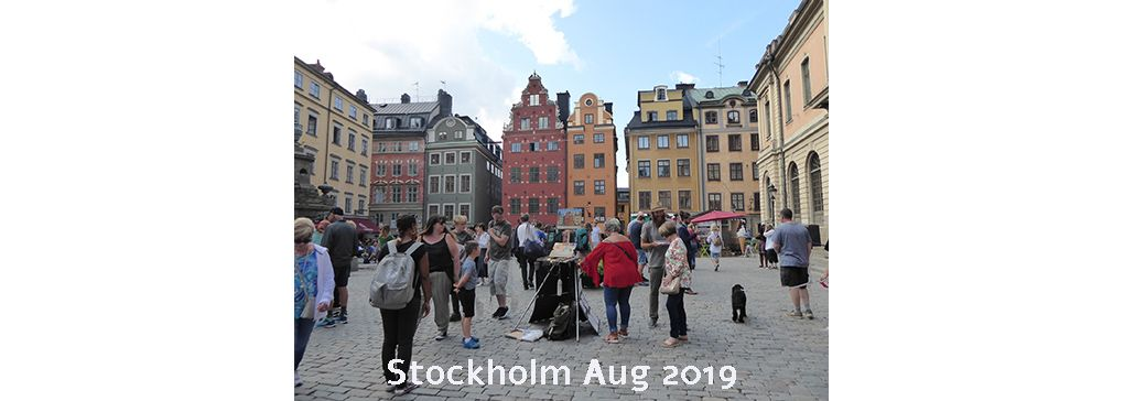Stockholm Through Traveller Jane's Eyes