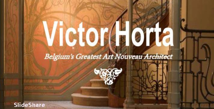 Victor Horta and Art Nouveau