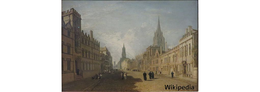 Oxford, Turner and Creativity