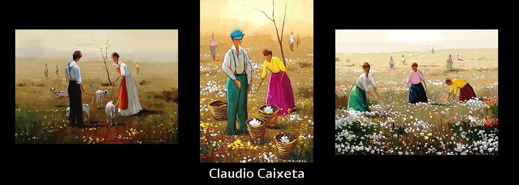 Brazilian Artist: Claudio Caixeta