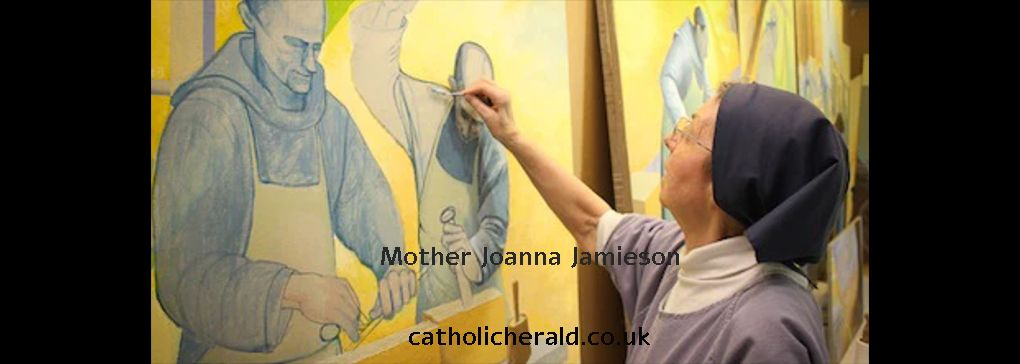 Friday Feature: Buckfast Abbey Mural by Mother Joanna Jamieson