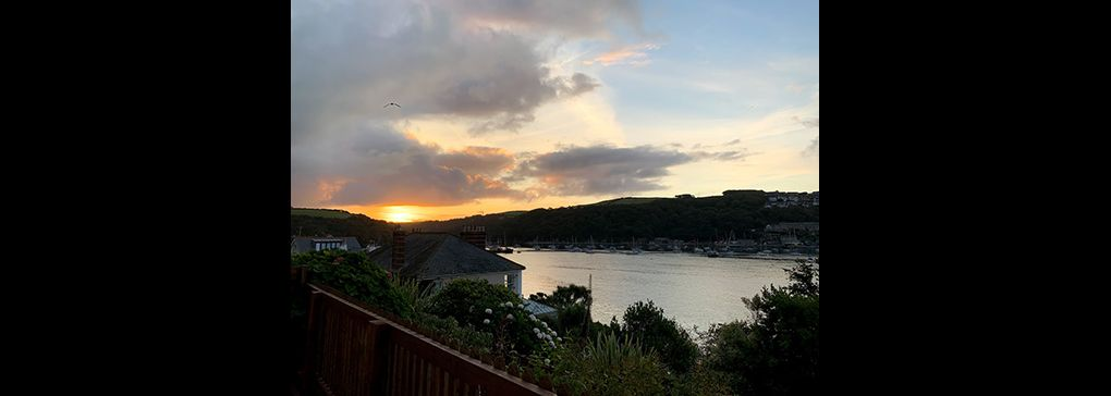 The Changing Light Over Fowey, Cornwall