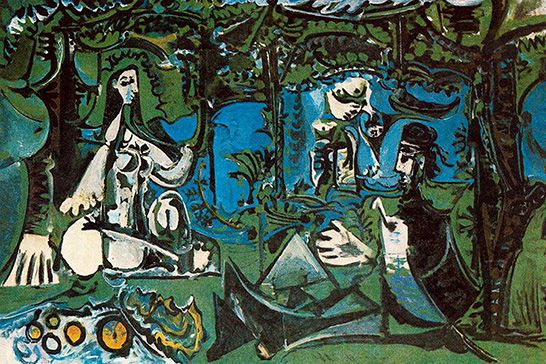 Luncheon on the Grass by Picasso 2