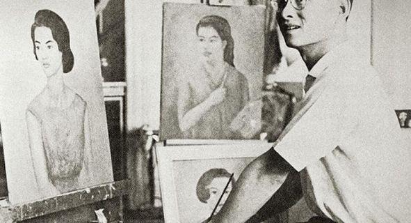 King Rhumibol the artist