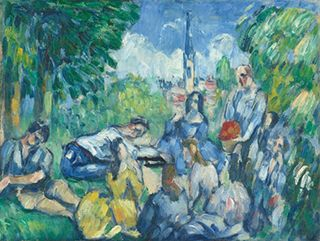 Luncheon on the Grass by Cezanne