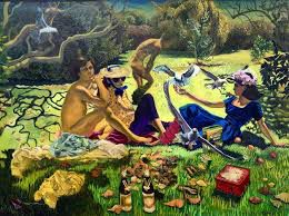 Luncheon on the Grass by Jaqueline Fahey
